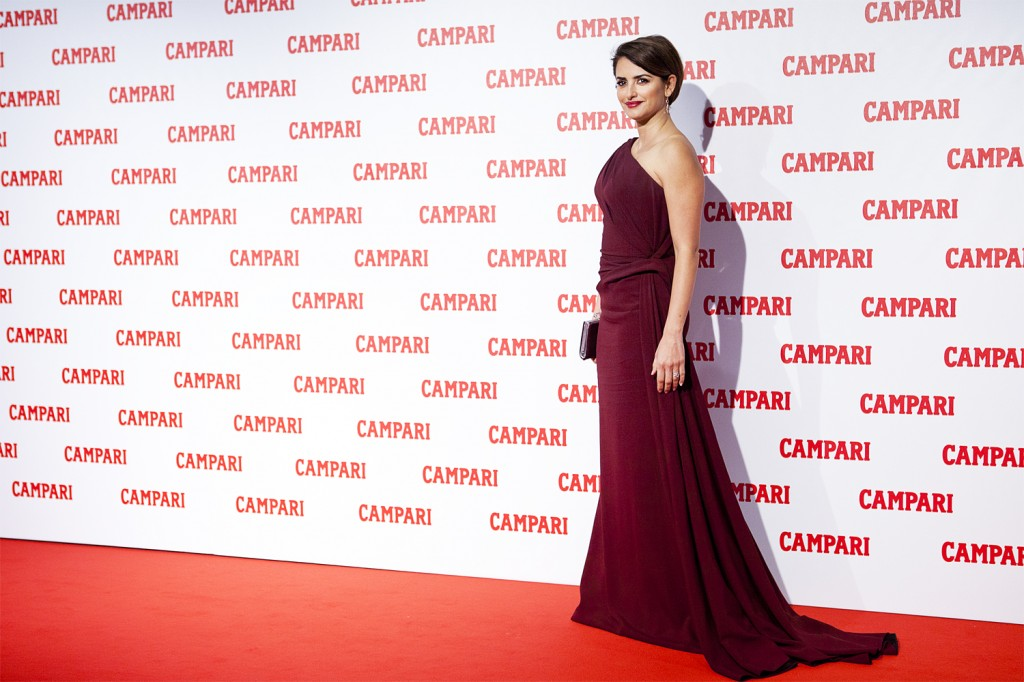 Penelope Cruz At Campari Calendar Launch In Milan