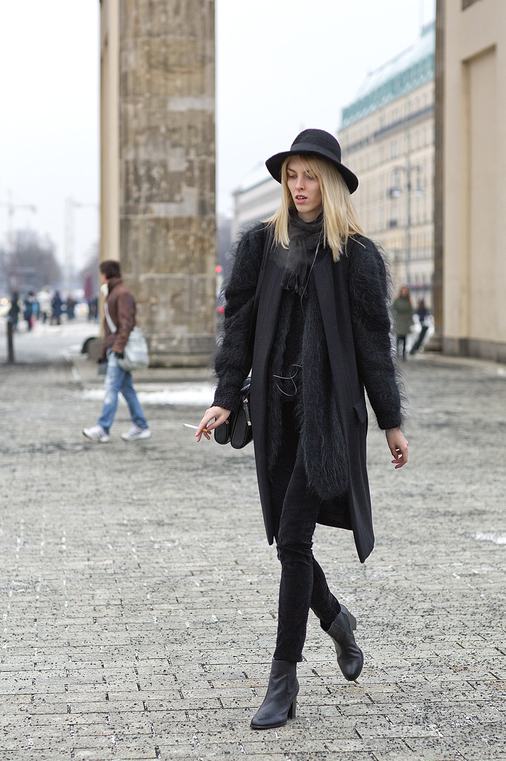 Berlin Street Style At Mercedes Benz Fashion Week Lightaholic