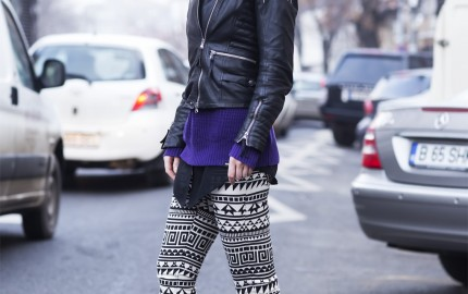 Street Fashion Bucharest With Alexandra Ungureanu