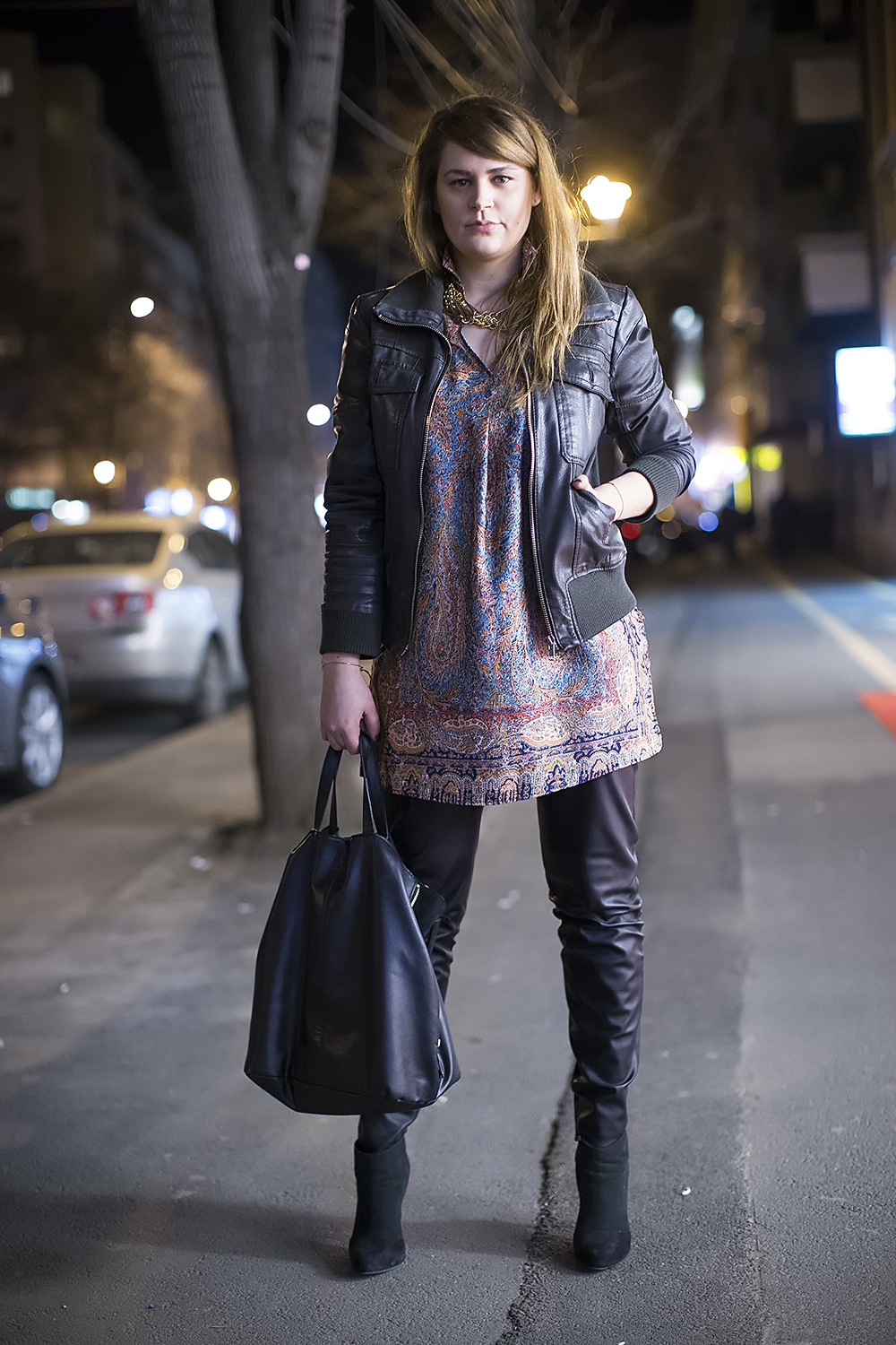 Spring Evening Street Style - Street Fashion Bucharest - Street Style Buchares