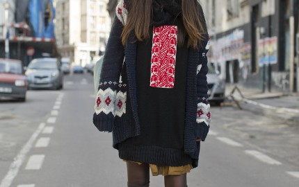 Romanian Tradition Street Style