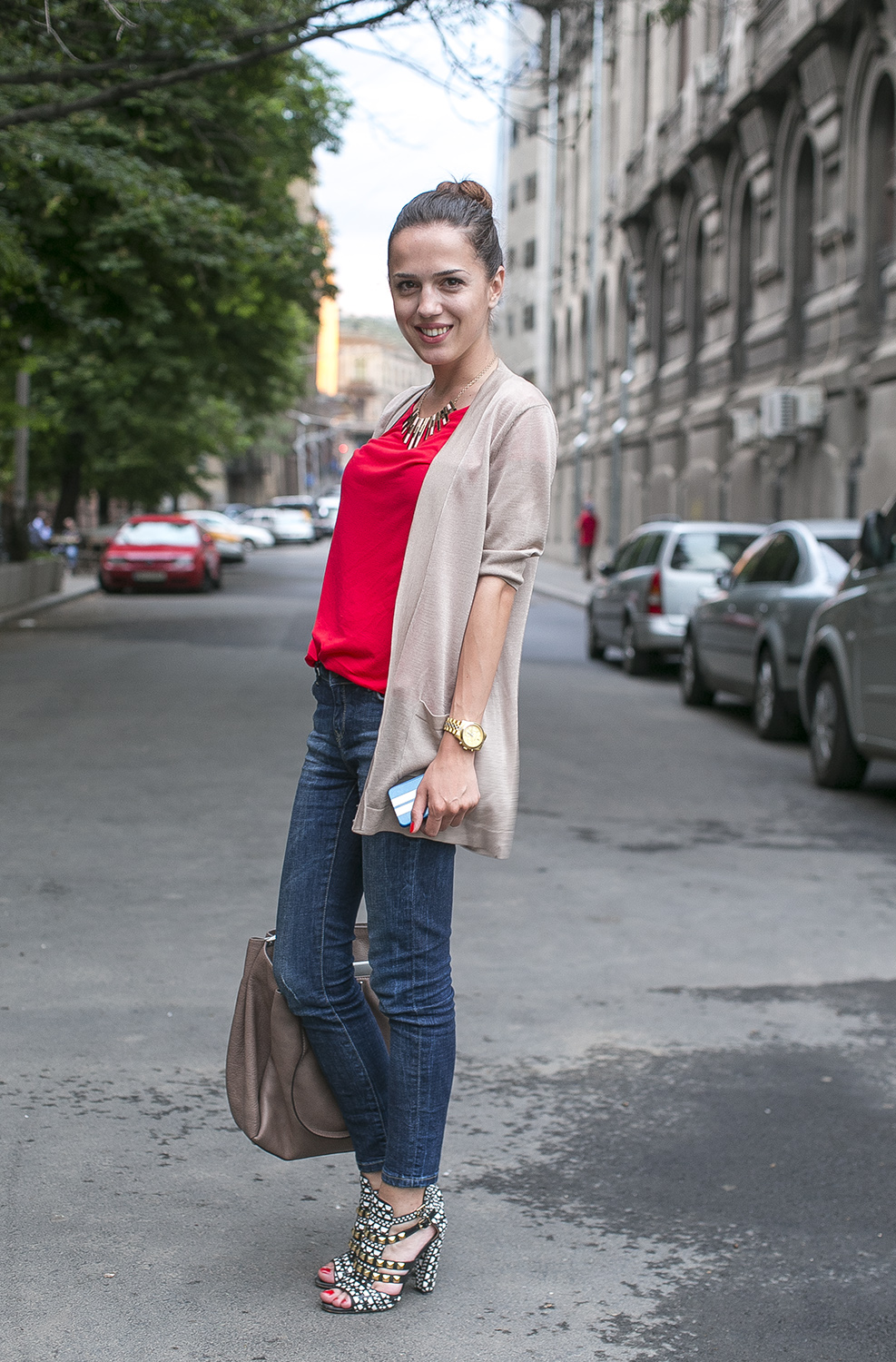 Casual Chic Street Fashion Bucharest