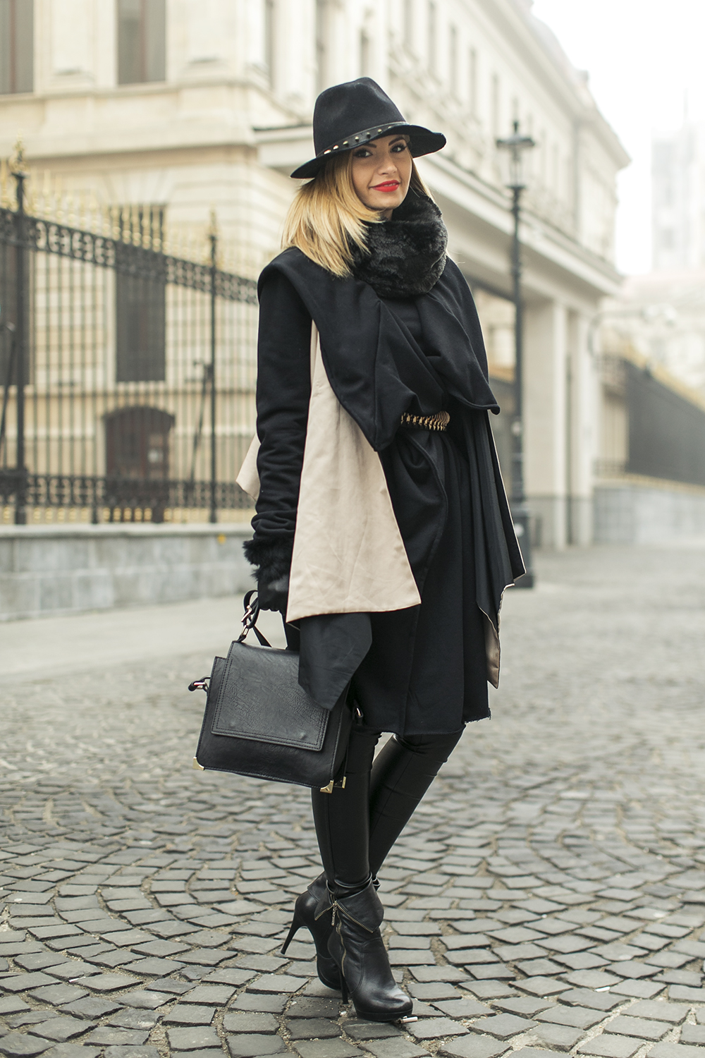 Street Style In Foggy Bucharest