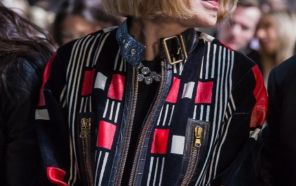 Anna Wintour At Topshop London