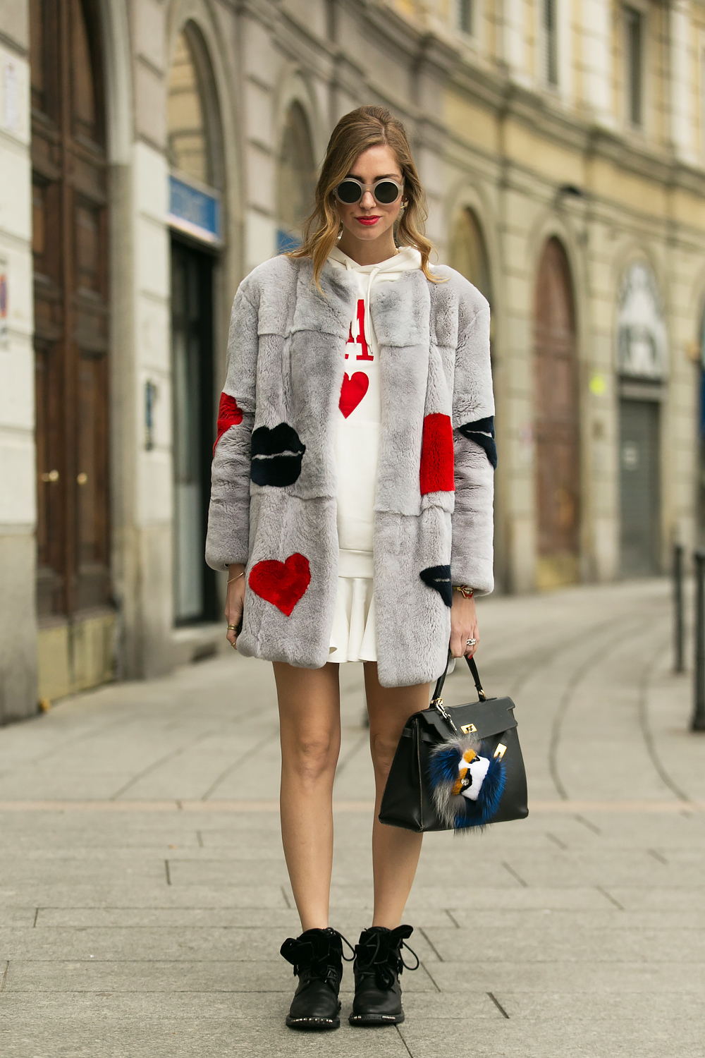 Chiara Ferragni One On One With Lightaholic At Milan