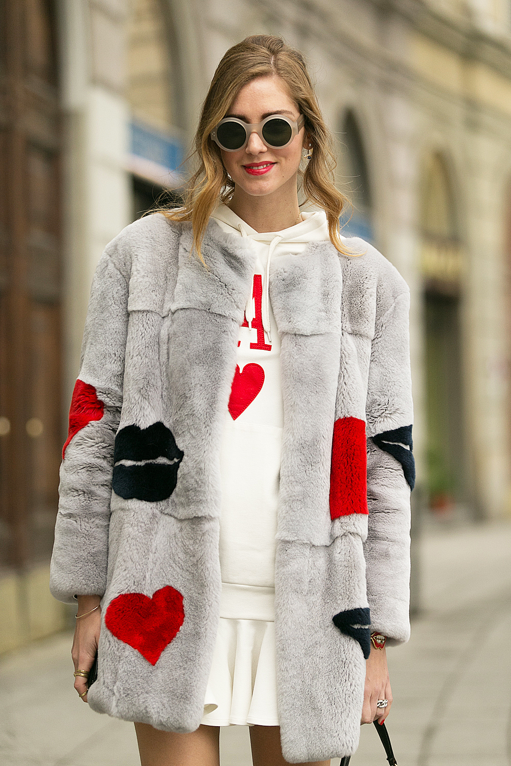 Chiara Ferragni At Milan Fashion Week