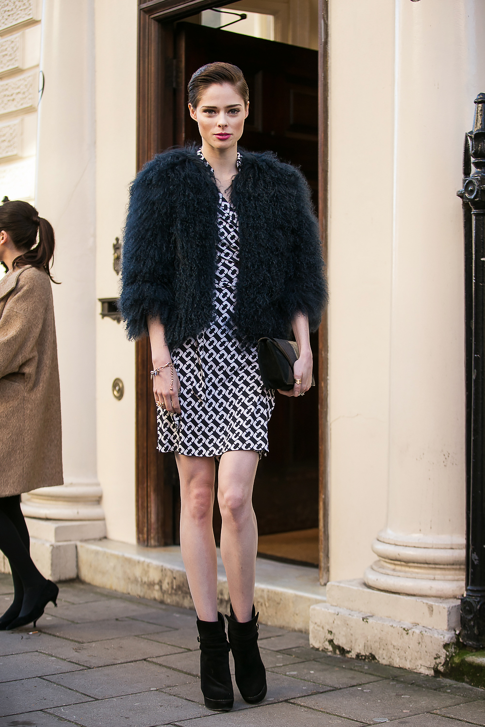 Coco Rocha and Her Daughter Walk Runway At Paris Couture Week 10