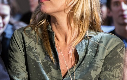 Kate Moss At Topshop Show - London Fashion Week