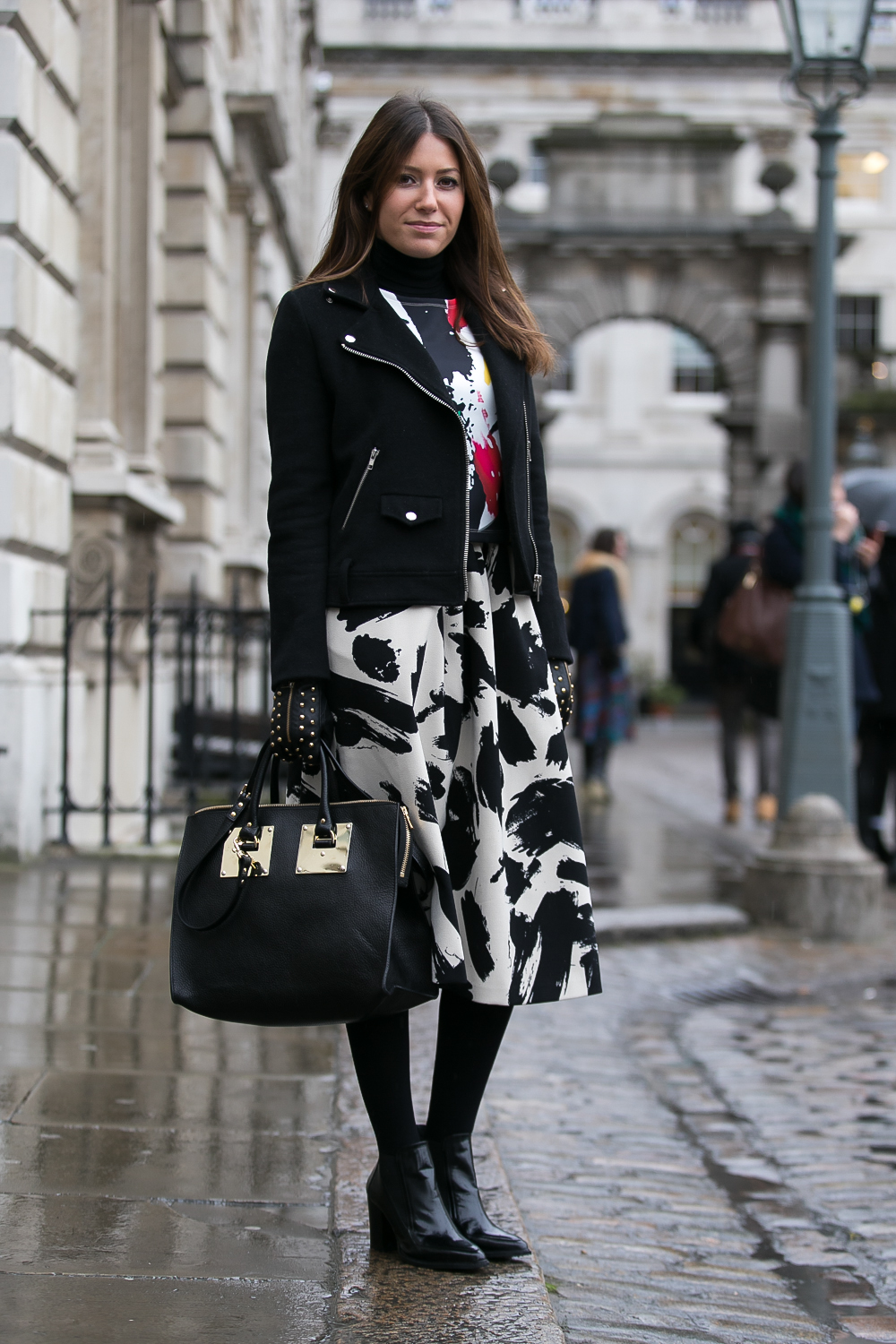 London Street Style With Camille Charrière At London: Canon Live. #canonfashion. London Fashion Week. Day 1