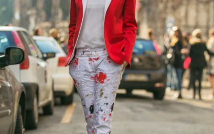 Relaxed Chic Street Style Milano Fashion Week