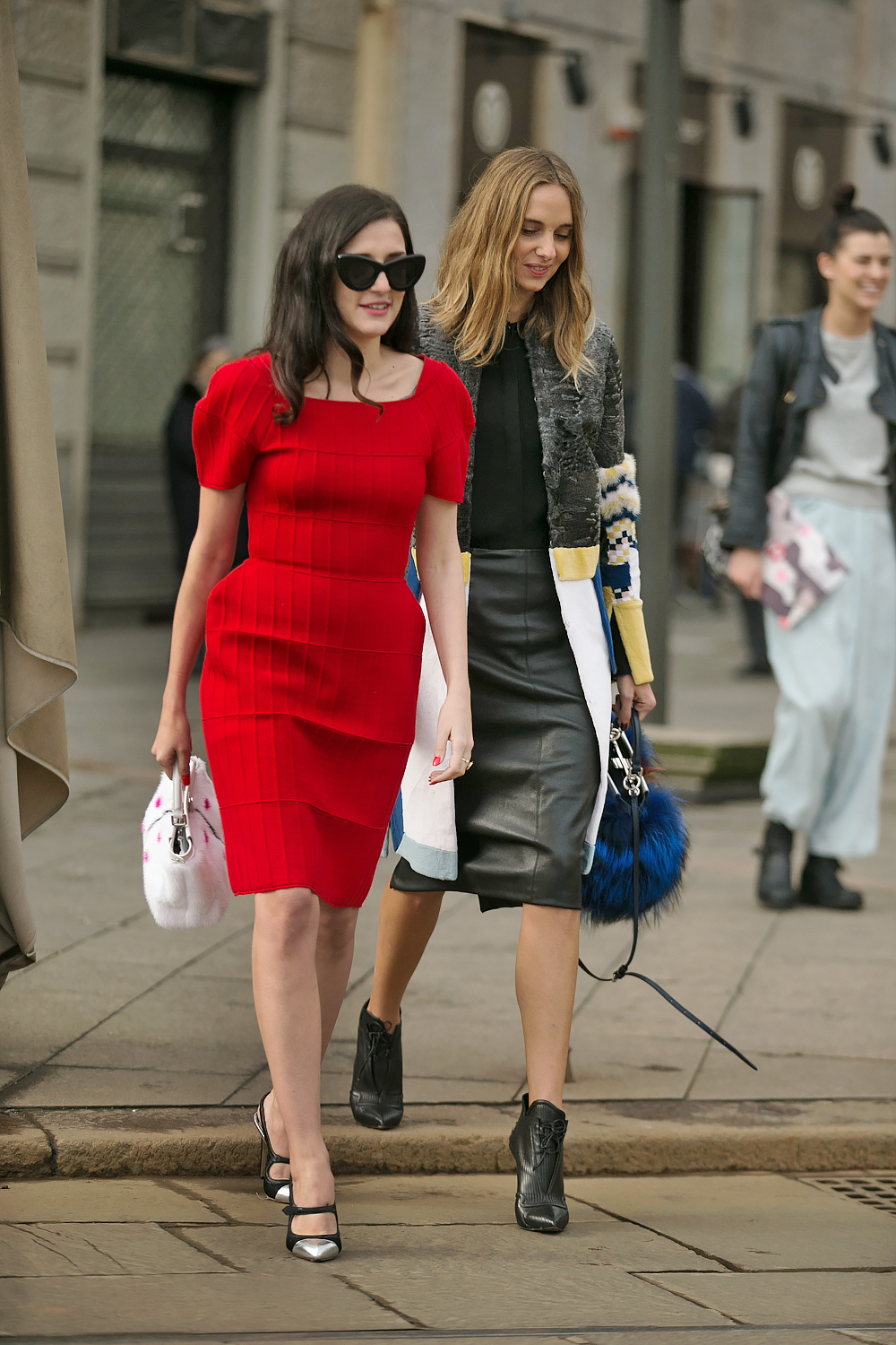 Street Style Duo In Milan