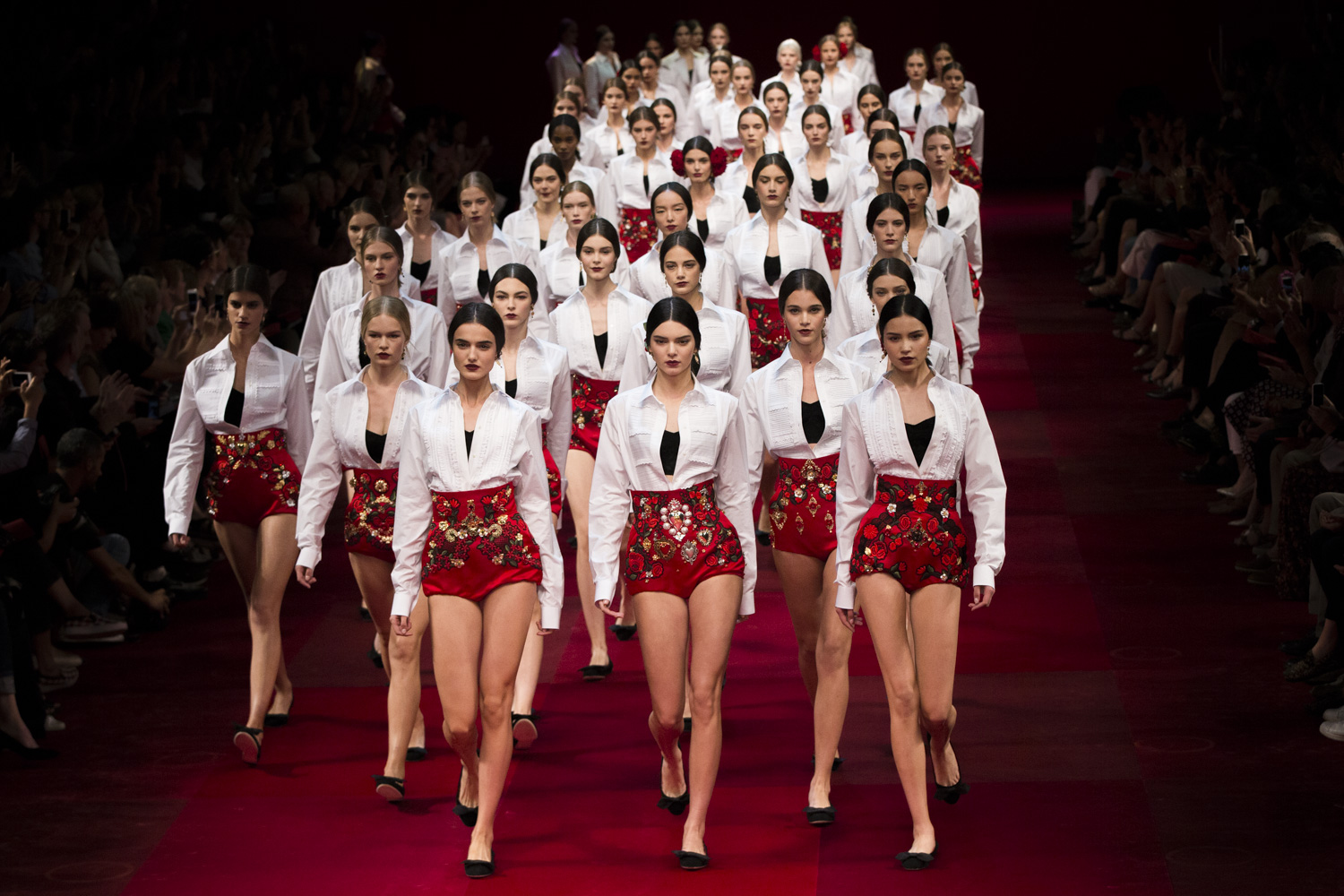 DOLCE AND GABBANA FINALE