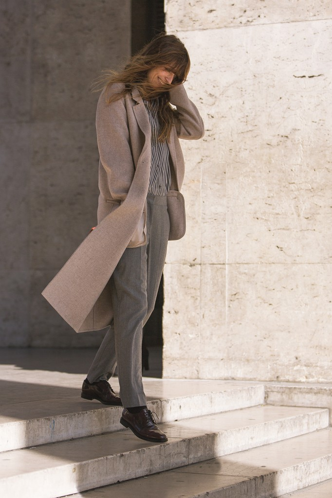 Caroline De Maigret At Paris  Fashion Week