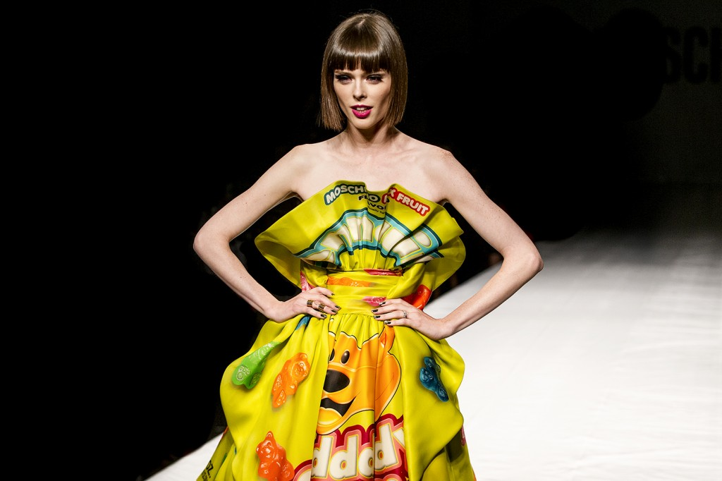 Coco Rocha At Moschino SS15