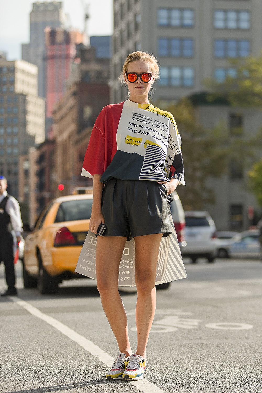 The Colors Of NY Street Style