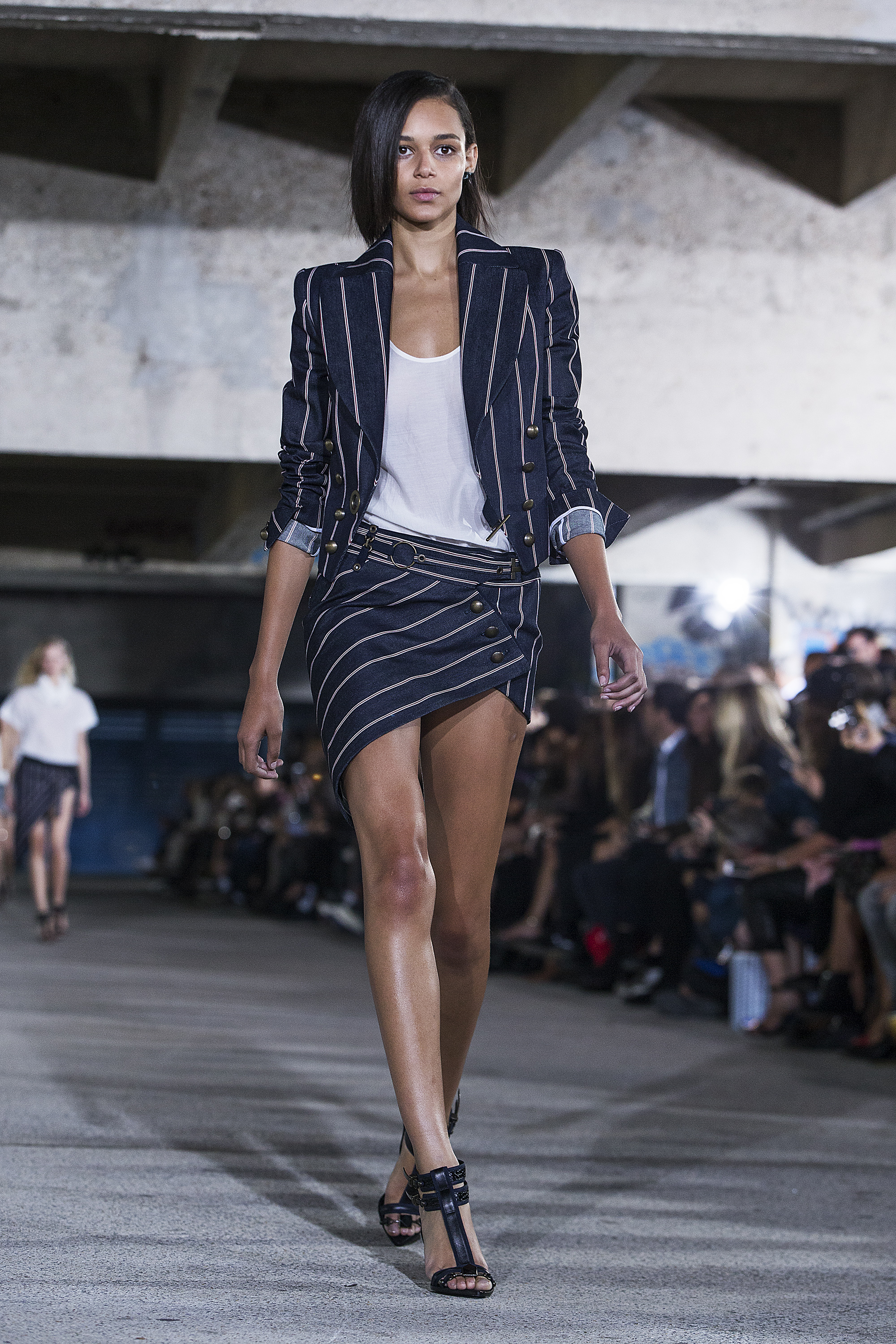 Binx Walton For Anthony Vaccarello SS15