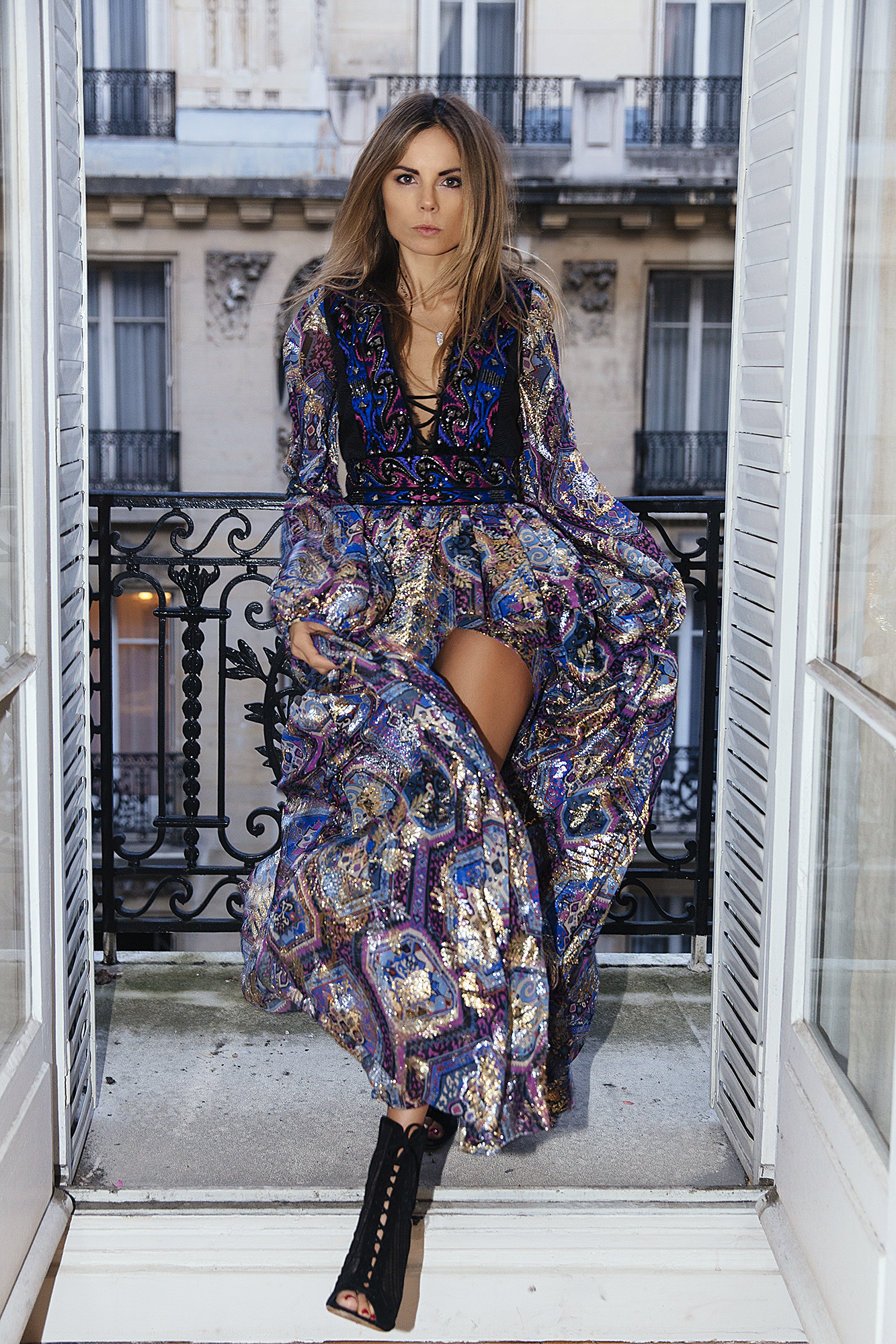Erica Pelosini In Paris For Elle Romania