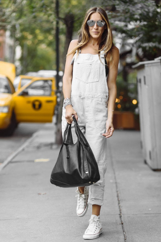 Sarak Jessica Parker On The Streets Of West Village NY