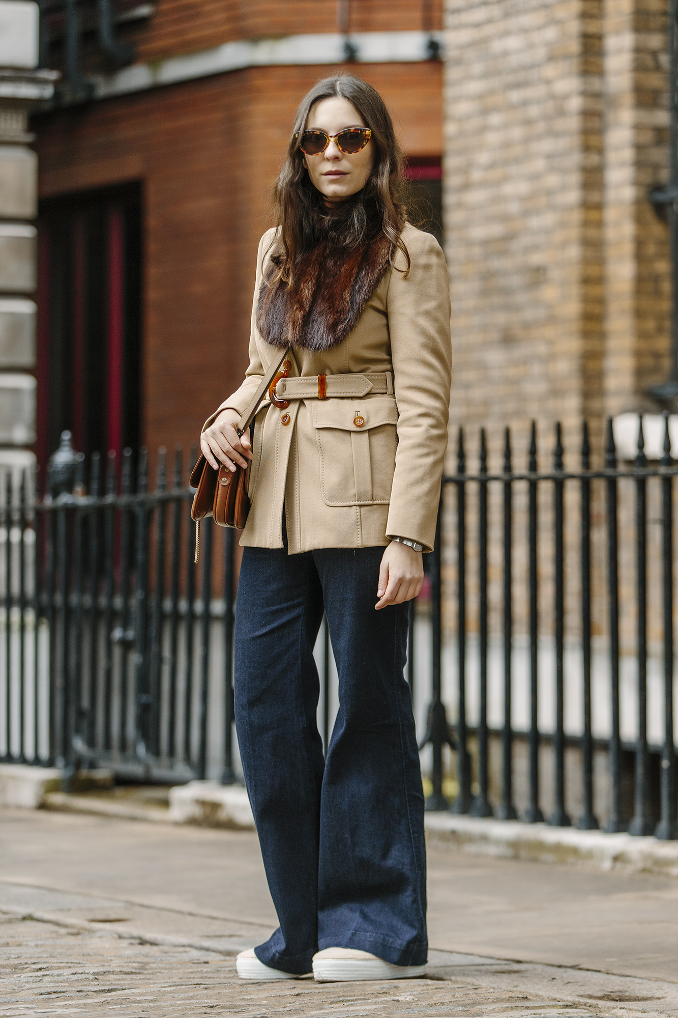 Beautiful Romanians- Andreea Bogdan At London Fashion Week