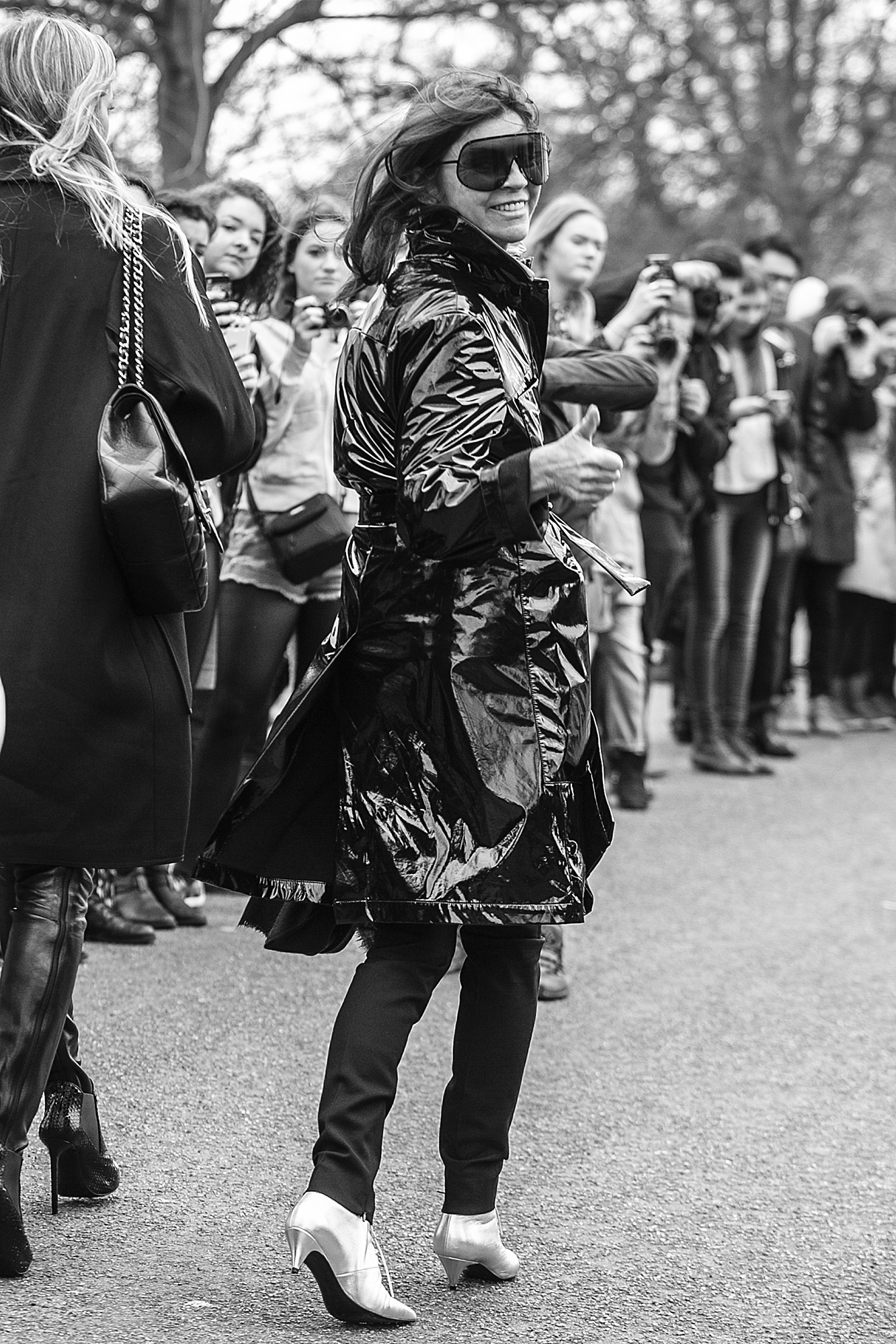 Carine Roitfeld In London