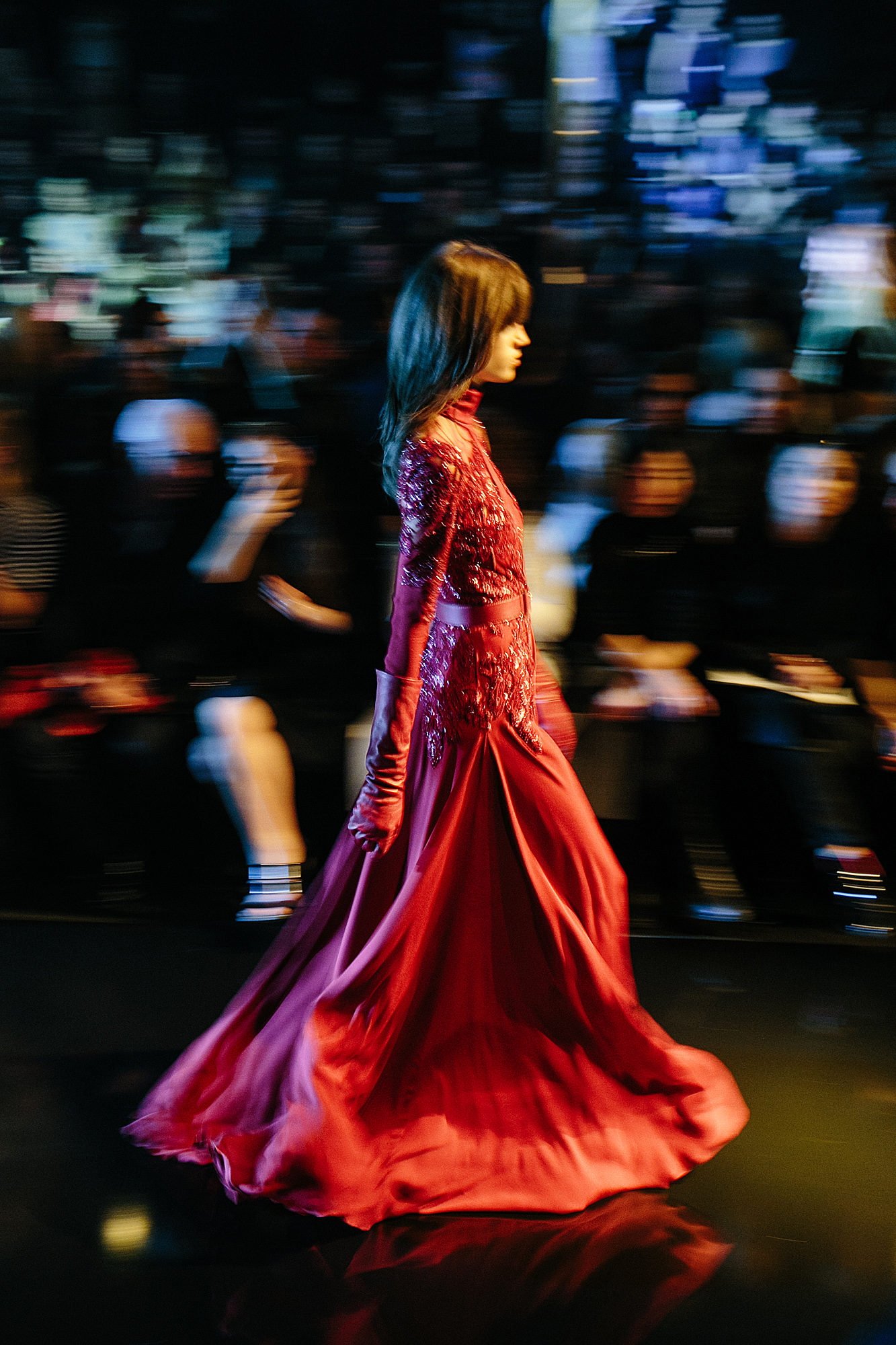 Elie Saab AW15 At Paris Fashion Week