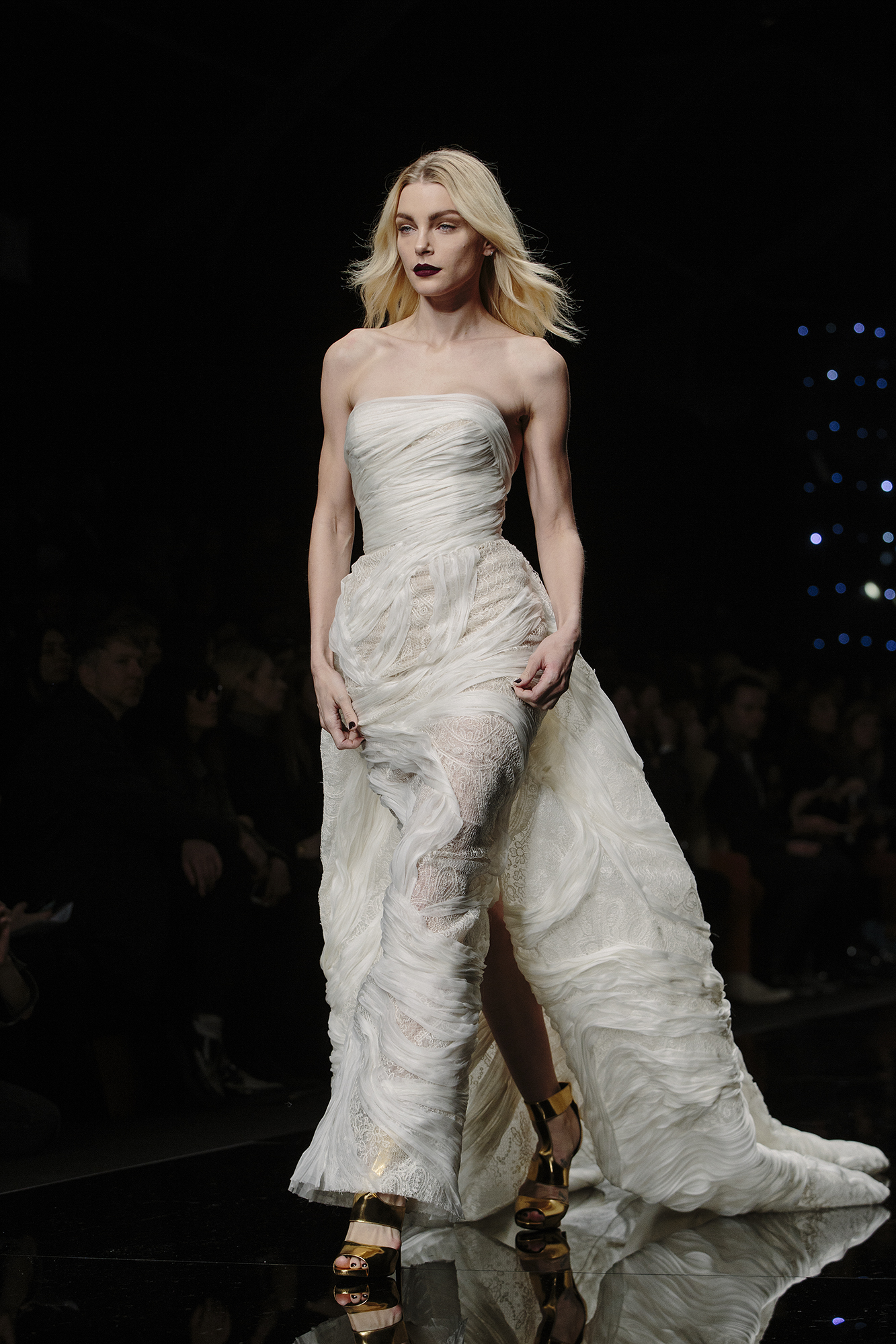 Jessica Stam At Ermanno Scervino