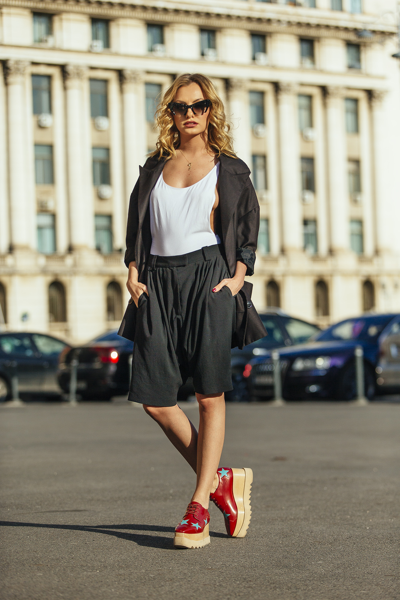 Alexandra Stan On The Streets Od Bucharest