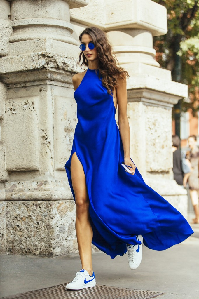 Sara Rossetto On The Streets Of Milan