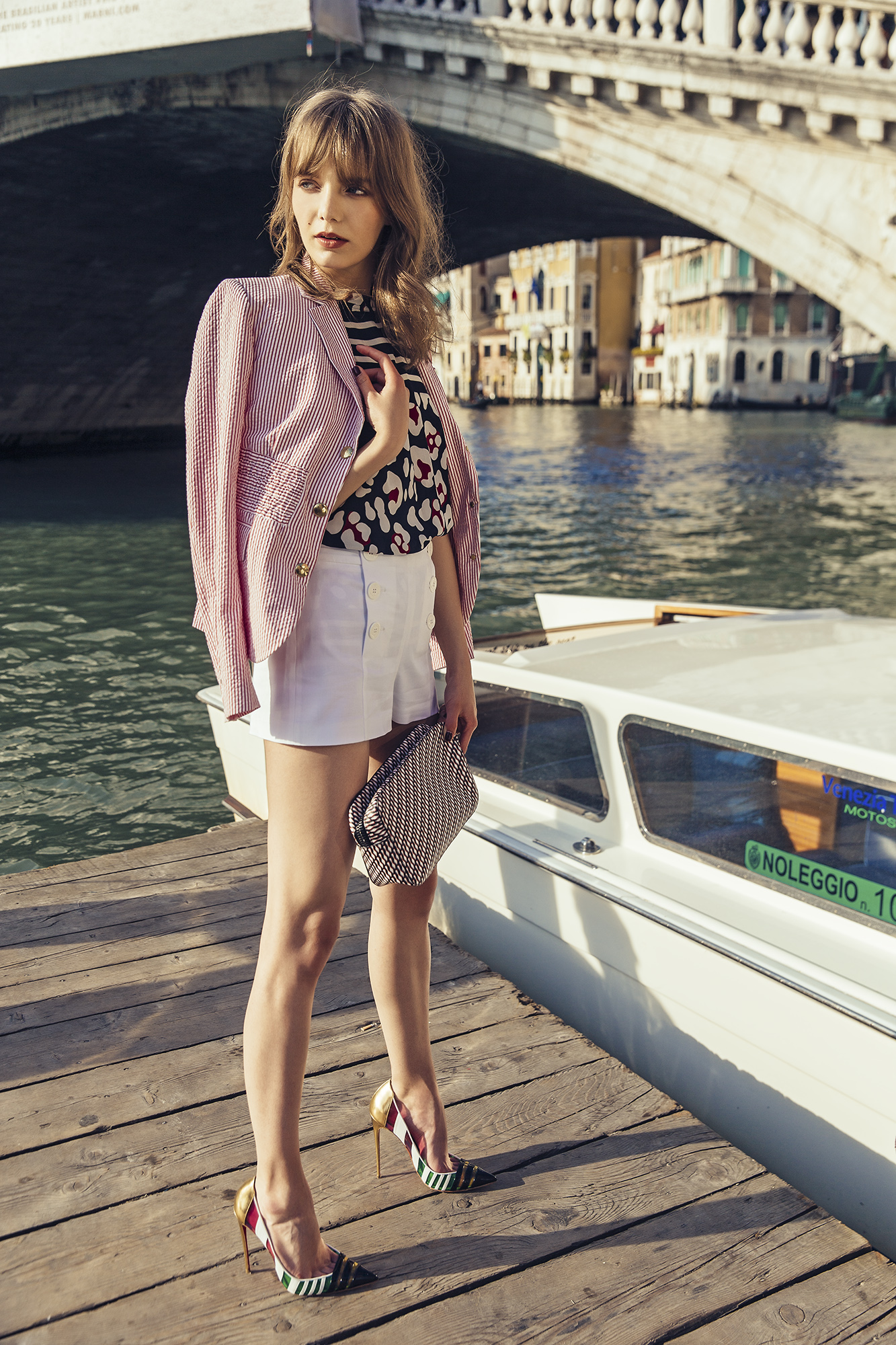 Summer Delight In Venice - Marie Claire Romania