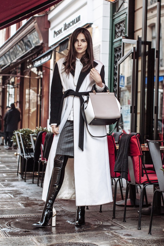 Doina On The Streets Of Paris