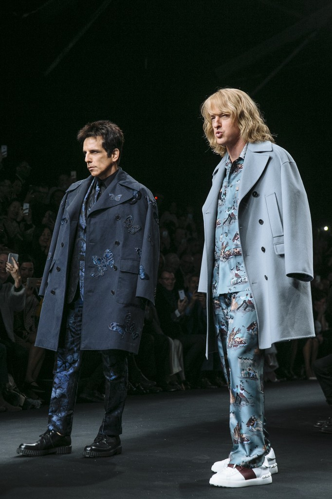 Zoolander Moment At Valentino AW15