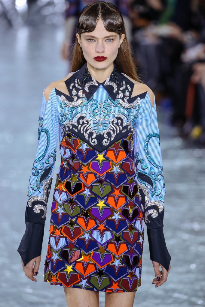 Back In Time With Mary Katrantzou Fall 2016