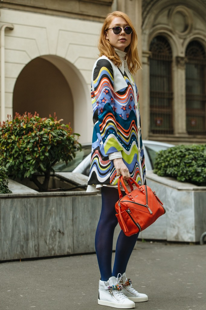 Colorful Streets Of Milan With Maria Jernov