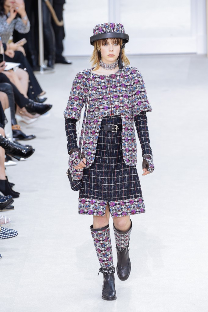 Chanel AW2016 - Eddie Campbell