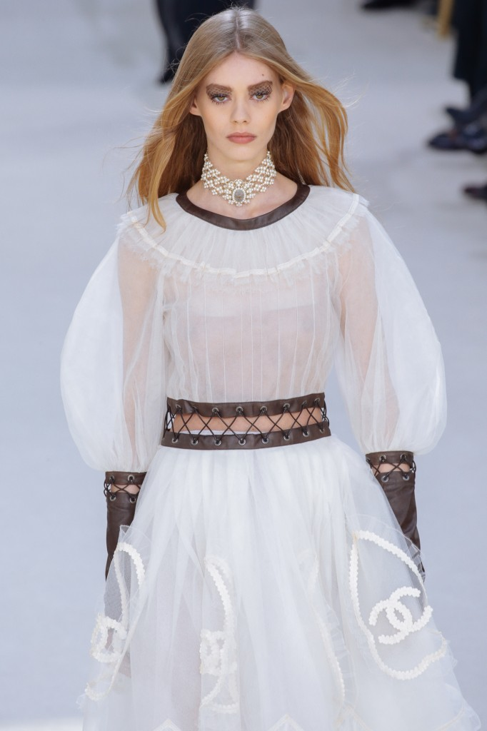 Chanel AW16, Paris Fashion Week's Peak Moment
