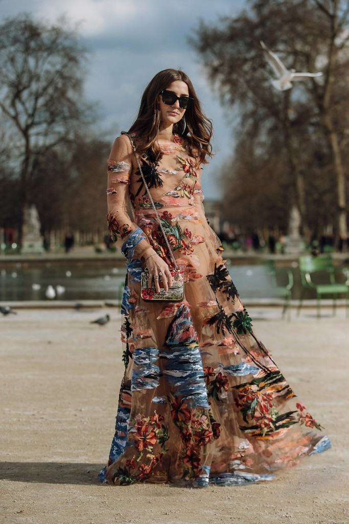 Eleonora Carisi In A Dreamy Valentino Dress