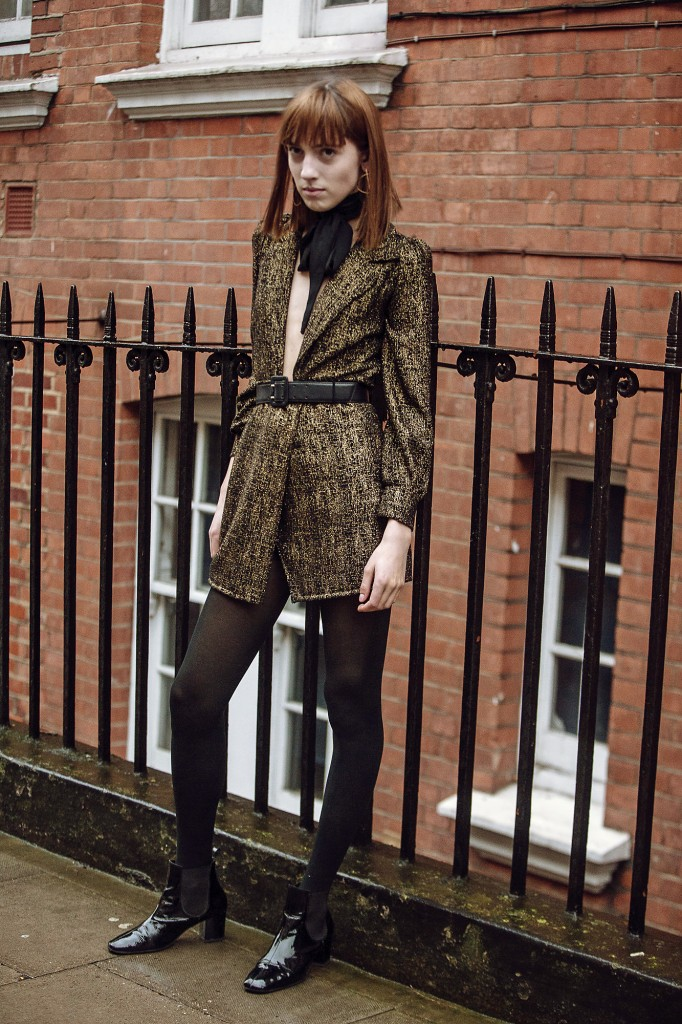 Teddy Quinlivan On The Streets Of London
