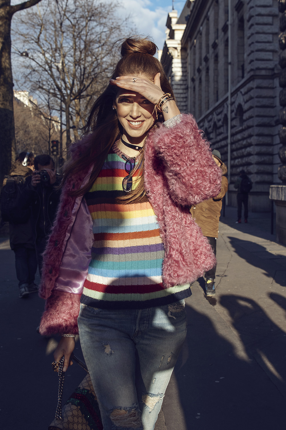 Colors, Sun, Beautiful Smiles And Chiara Ferragni In Paris